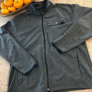 Mountain and Isles Men's Gray Jacket Size Large